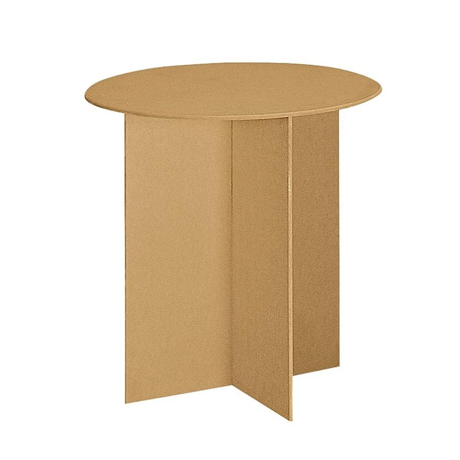 Round Wood Display Table - 30