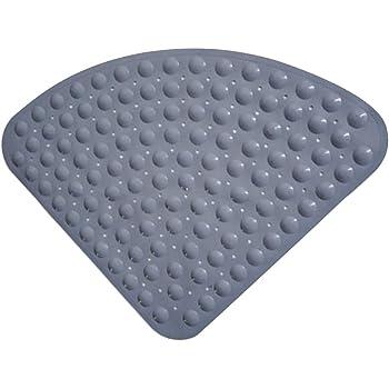 Tappetino antiscivolo Tappetino antiscivolo per vasca da bagno Tappetino lavabile in lavatrice Pebbled PVC trasparente Tappetino antibatterico Tappetino antiscivolo con ventose