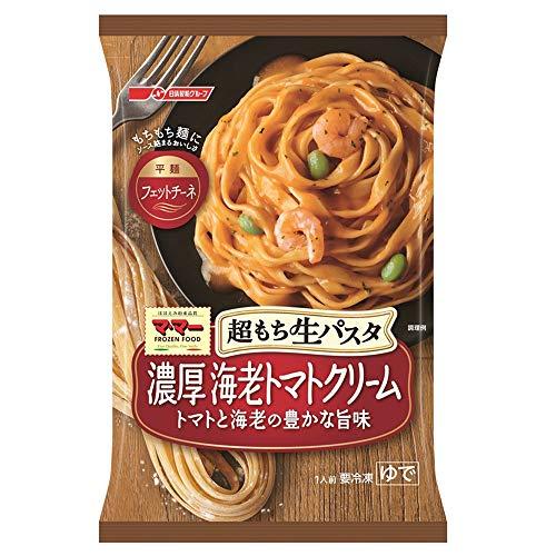 [冷凍]日清フーズ 超もち生パスタ 濃厚エビトマトクリーム 275g×14個