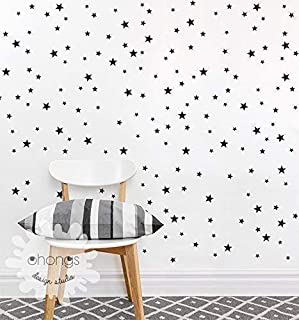 A Star in the room/Star wall decal/Mini Size and Custom color Star Pack / 3 Size Stars Decal Set/Kids wall decoration/Nursery Wall Decal/gift