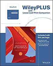 Mechanics of Materials: An Integrated Learning System, 4e WileyPLUS Registration Card + Loose-leaf Print Companion