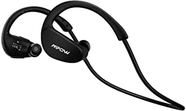 Mpow Cheetah Auriculares Estéreo In-ear Deportes Tecnología aptX Avanzada Bluetooth 4.1 Correr Cascos Deportivos Manos Libre, Auricular Inalámbrico para iPhone,iPad,Teléfono Móvile Android-Negro