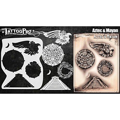 Tattoo Pro Stencils tatuaggio pro stencil Aztec & Maya