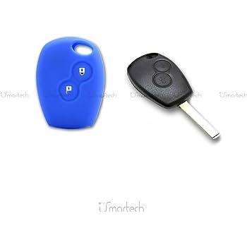 hoja botones para mando llave 2/teclas Dacia Logan Duster Sandero Express Bater/ía Caparaz/ón