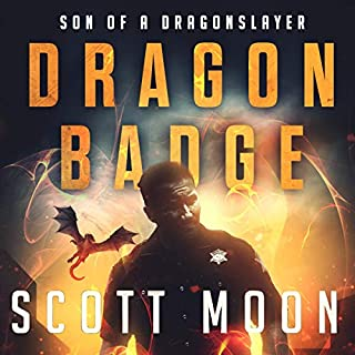 Dragon Badge audiobook cover art