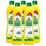 5x Frosch Zitronen Scheuermilch 500 ml - Reinigt Bad und Kche kraftvoll