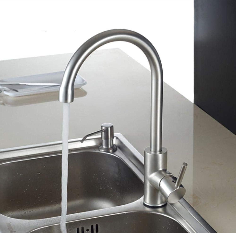 Neue Ankunft heies und kaltes Wasser Spülbecken Wasserhahn Raum Aluminium Wasser Mischbatterie 360 Grad-Drehung