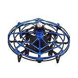 Mini Drohne für 25 Minuten Flugzeit RC Drone Quadrocopter Mini Helikopter Flugzeuge Drehflügler Ebene mit Höhehalten Kopflos Modus 3D Flips Spielzeugdrohne für Kinder (Blau)