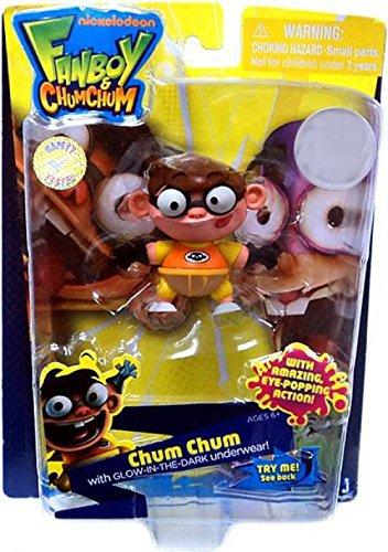 Jazwares Fanboy Chum Chum Exclusive 3 Inch Action Figure Chum Chum GlowInTheDark Underwear by