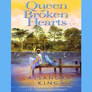 Queen of Broken Hearts audiobook cover art