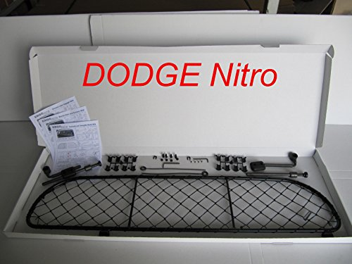 ERGOTECH Rejilla Separador protección RDA65-XL, para Perros y Maletas. Segura, Confortable para tu Perro, Garantizada!