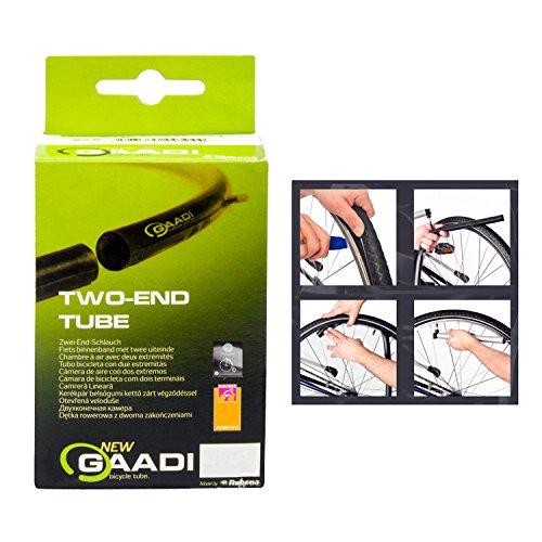 GAADI Fahrradschlauch 20″ 50/54-406 DV 35 mm (Dunlop Ventil)