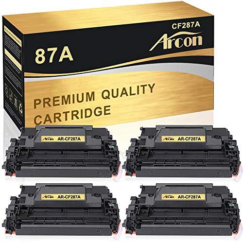 Arcon Compatible Toner Cartridge Replacement for HP 87A CF287A 87X HP laserjet M506 M506n M506dn LaserJet Enterprise M506dn M506X M506 Laserjet MFP M527Dn M527Z M527F Laserjet Pro M501dn M501-4 Packs