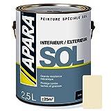 Peinture SOL SATIN 2.5 litres Pierre (RAL 1015)
