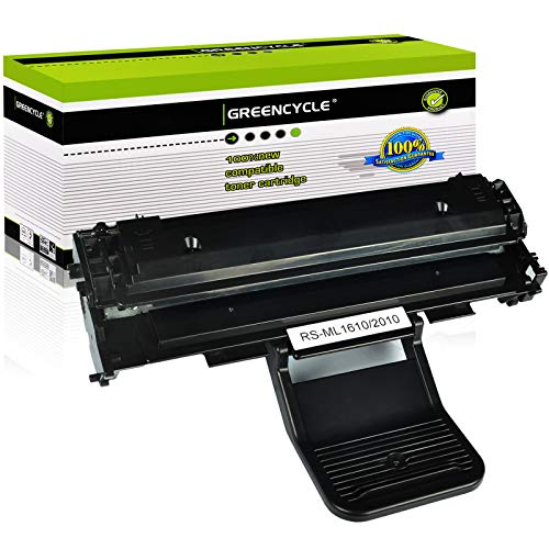 GREENCYCLE 1PK Compatible for Samsung ML-2010 Laserjet Toner Cartridge ML2010 Replacement for SCX-4321 ML-1610 ML-2010D3 ML-2015 Printer