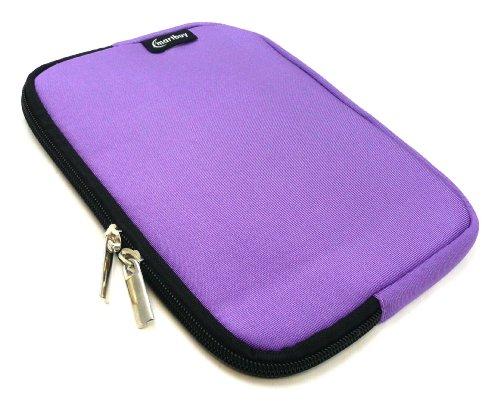 Emartbuy® Cat Helix Tablet PC 8 Zoll Lila Wasserfest Neopren weich Zip Tasche Hülle Sleeve (8 Zoll Tablet)