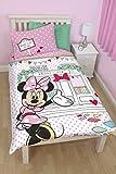 Disney Junior Disney Minnie Mouse Café Single Panel Duvet Set
