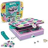 LEGO 41915 DOTS Joyero Infantil Kit de Manualidades para Niños y Niñas de +6 años Decoración de Escritorio DIY
