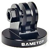 Sametop Alulegierung Kamera Zubehör Tripod Mount Adapter Stativadapter Kompatibel mit GoPro Hero 9, 8, 7, 6, 5, 4, Session, 3+, 3, 2, 1, Hero (2018), Fusion, Max Kameras