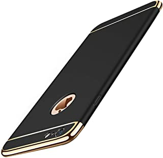 MBAPPE iPhone 6 Plus Case, iPhone 6S Plus Case, 3 in 1 Thin Plating Hard Cover for Apple iPhone 6/6S Plus