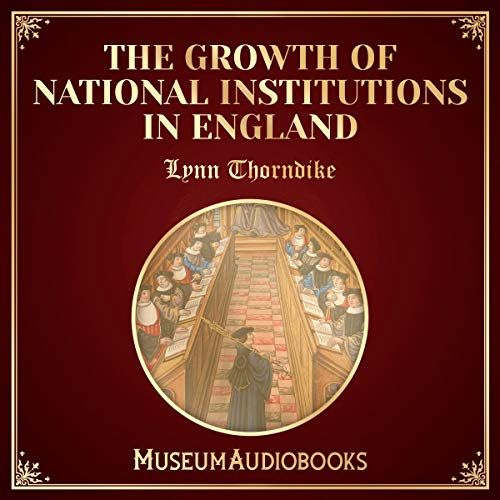 『The Growth of National Institutions in England』のカバーアート