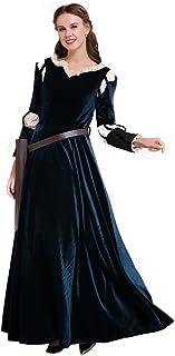 CosplayDiy Women's Deluxe Halloween Princess Cosplay Costume Dress