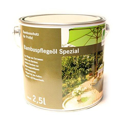 """elephant Bambus-Pflegeöl \""""Spezial\"""", für CoBAM-Terrassendielen, espresso (2.5 Liter)"""