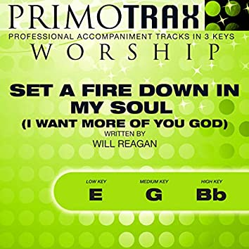 Set a Fire (Worship Primotrax) (Performance Backing Tracks) - EP