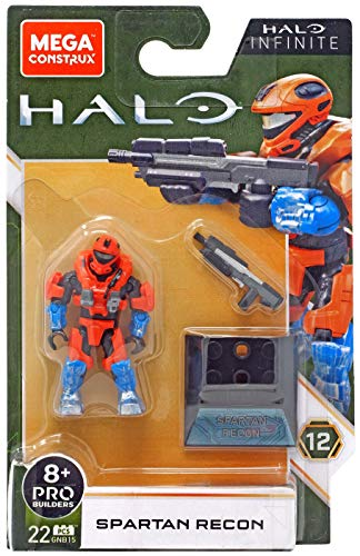 Mega Contrux Halo Infinite Spartan Recon Minifigure