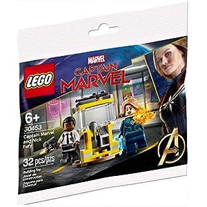 Amazon.co.jp - レゴ マーベルスーパーヒーローズ キャプテン・マーベルとニック・フューリー 30453