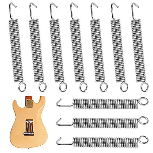 Bigxin 10Pcs Muelle para Guitarra Resortes para...