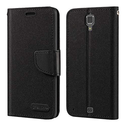 Hisense C20 Hülle, Oxford Leder Wallet Hülle mit Soft TPU Back Cover Magnet Flip Hülle für Hisense King Kong II