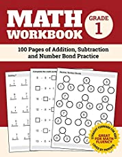 Image of Math Workbook Grade 1:. Brand catalog list of Independently Published.