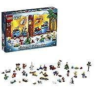"""Include 5 minifigure Lego (tra cui Babbo Natale) e un cane husky Include 24 oggetti diversi, tra cui veicoli, doni festivi e minifigure Include un cosciotto di pollo, 2 elementi di ghiaccio, 2 dolcetti e 4 biscotti Apri una """"porticina"""" ogni giorno pe..."""