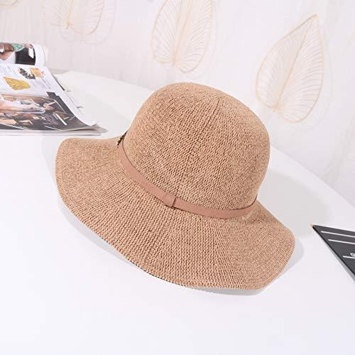geiqianjiumai Knit hoed dames chenille wastafel hoed mode golf kant visser hoed outdoor reizen hoed tij
