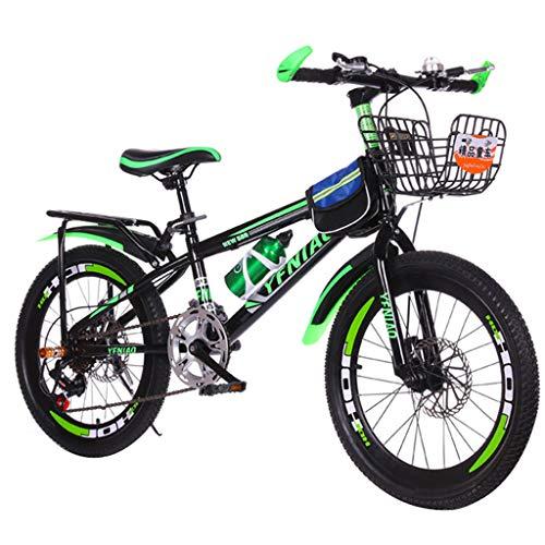 SHUANGA 22 Zoll leichtes, nicht faltbares Mini-Fahrrad, kleines tragbares Fahrrad, erwachsener Student 22-Zoll-Mountainbike-Scheibenbremse mit variabler Geschwindigkeit