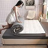 HFMY colchon de Latex Plegable,Colchon Japones Suelo Plegable Espesar ColchóN Acolchado ColchóN Respirable ColchóN De FutóN VíVeres Estera para Dormir