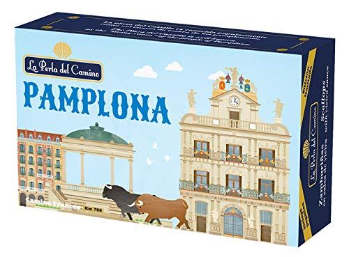 Souvenir La Perla del Camino - Ciudad de Pamplona - Zamburiñas en...