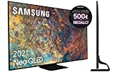 Samsung Neo QLED 4K 2021 65QN90A - Smart TV de 65' con Resolución 4K UHD, Quantum Matrix Technology, Procesador Neo QLED 4K con Inteligencia Artificial, Quantum HDR 2000, OTS+