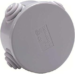 Voltman DIO013022 Pack of 3 Watertight Boxes IP44 (Diameter 65 mm)