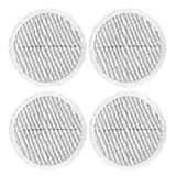 ECOMAID Replacement Pads for Bissell Spinwave Powered Hard Floor Mop   Compatible with 2124 2039A, 2039, 20391, 20395, 2039Q, 2039T, 2039W (4 Scrubby Pads)