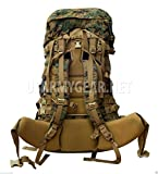 New Usmc Gen 2 Marpat Tan Woodland Ilbe Main Pack with Lid Belt Complete...