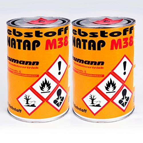 2 x Kontaktkleber, Universalkleber BONATAP Kleber Leder, Polsterkleber 0,8kg