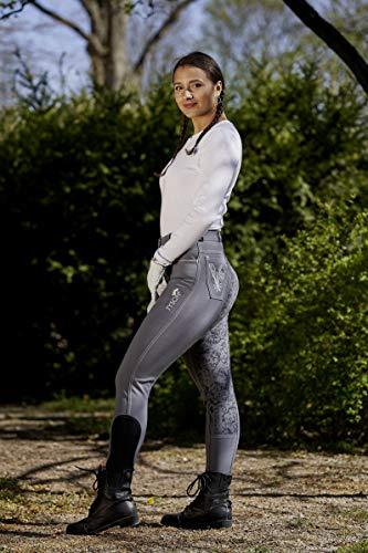 Reithose Rusty Reiterhose Vollgrip Vollbesatz Grip Grau 36 38 40 42 44 46 48 50 Damenreithose Damenreiterhose Tysons (36)