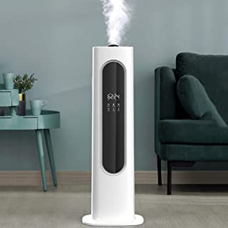 AMYDREAMSTORE Humidifiers for Bedroom,uv Humidifier,Aroma Essential Oil Diffuser,Cool Mist Humidifier Air Purifier,Mute 8l Humidifiers for Baby-White