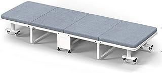 Lit pliant Lit Simple Lit Éponge pour La Maison Bureau Adulte Lit Simple Sieste Portative Lit pour Le Déjeuner Canapé-lit ...
