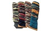 Lucky staryuan Women Set of 3 Wool Knit Leg Warmer Boot Warmer (style 1)