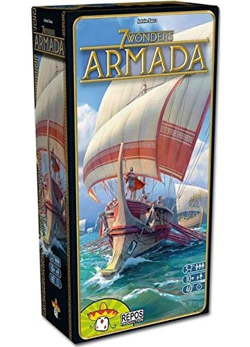 7 Wonders Armada NL - Uitbreiding - Expansieset voor het spel 7 Wonders - Voor de hele familie - Taal: Nederlands