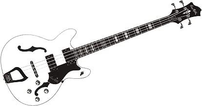 Hagstrom VIKB-WHT Viking Bass White
