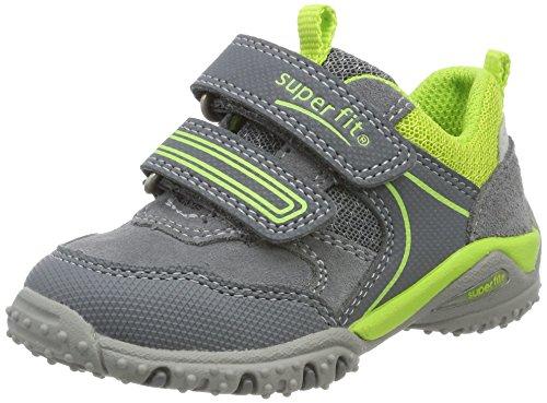 Superfit Baby Jungen SPORT4 Mini Sneaker, Grau (Smoke Kombi), 23 EU